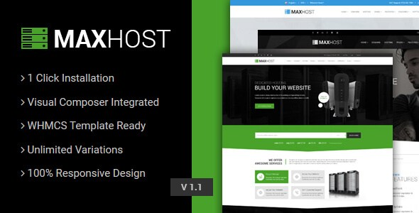 Download Free MaxHost v2.5.1 – Web Hosting, WHMCS & Business ...