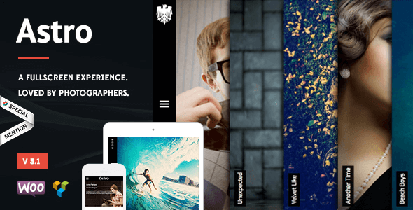 Download Free Astro v5.1 – Responsive Photography WordPress Theme ...