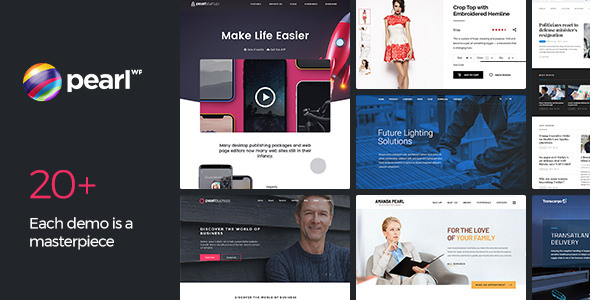 Download Free Pearl v2.4 – Multipurpose & Corporate Business ...