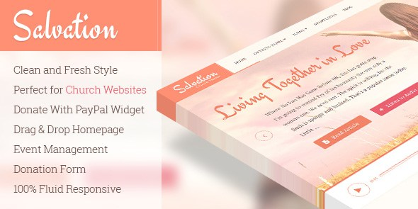 Download Free Salvation v1 1 5 – Responsive Church WordPress