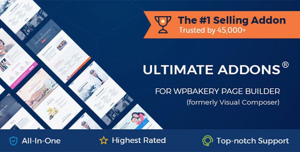 Download Free Ultimate Addons for WPBakery Page Builder v3