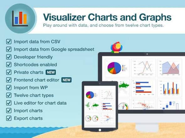 Download Free ThemeIsle - Visualizer Pro v1 7 6 - Charts and